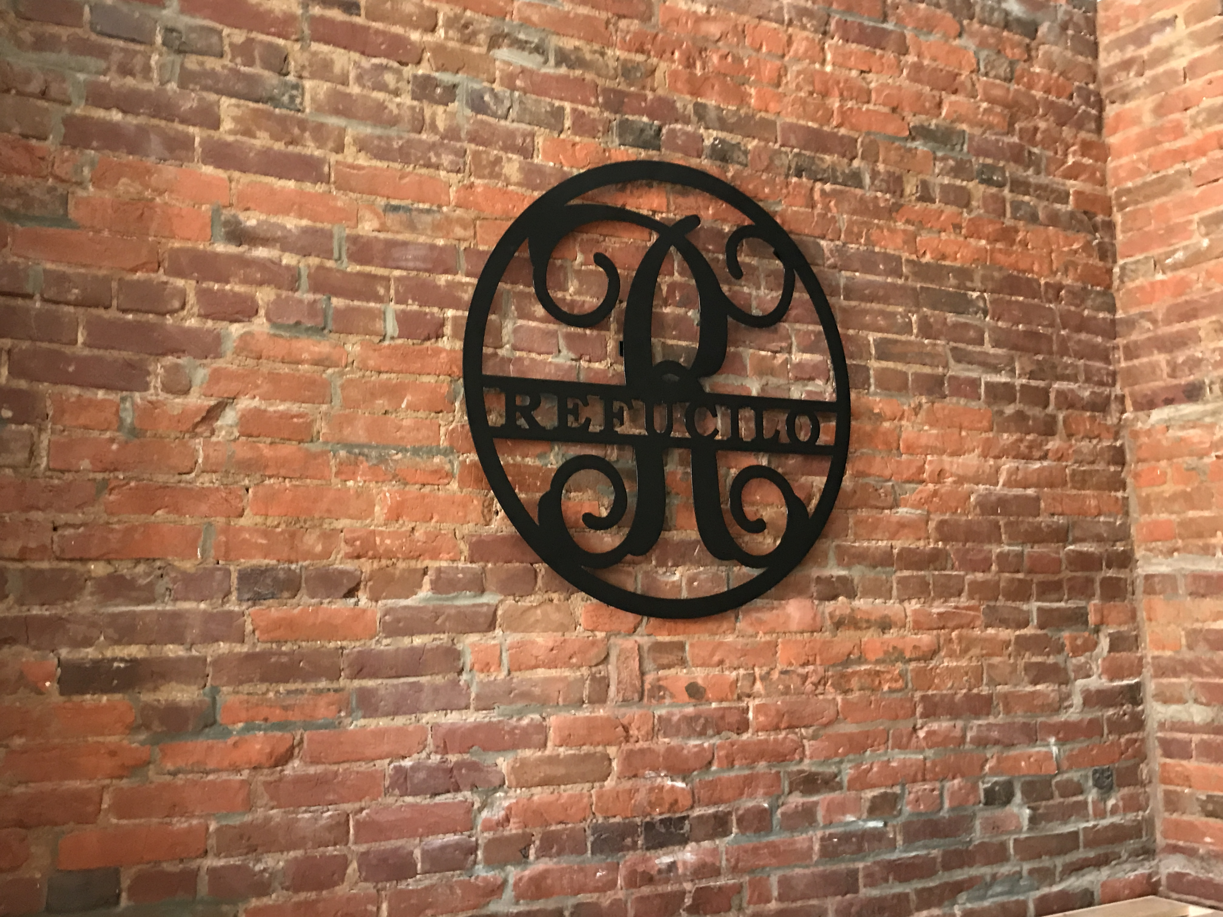 Plasma Table cut Sign for Refucilo Winery